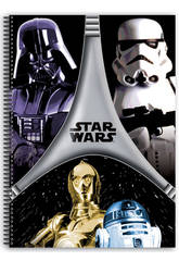 Block A4 80 hojas Star Wars Flash
