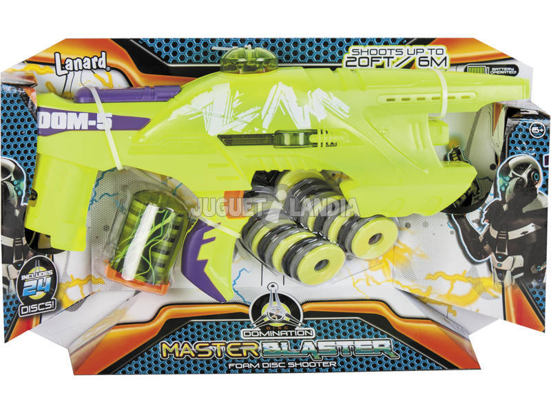 Lanzadiscos Foam Master Blaster