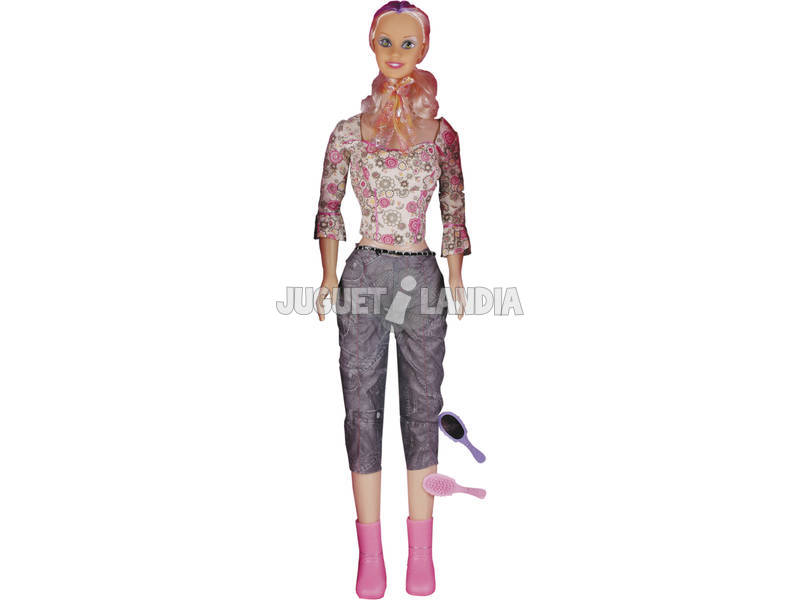 Muñeca Maniquí 120 cm. Pantalón y Camisa Flores