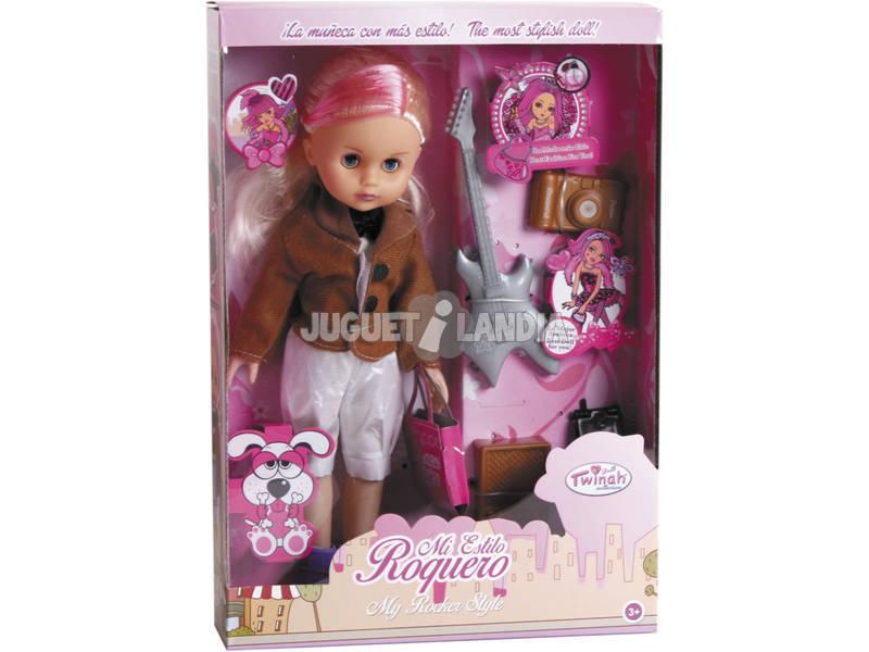 Puppe 33 cm. Rocker Schaufensterpuppe