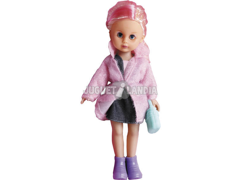 Boneca 35 cm. Minigirl Viagem