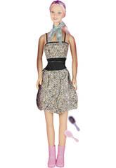 Muñeca 120 cm. Maniquí Vestido Flores
