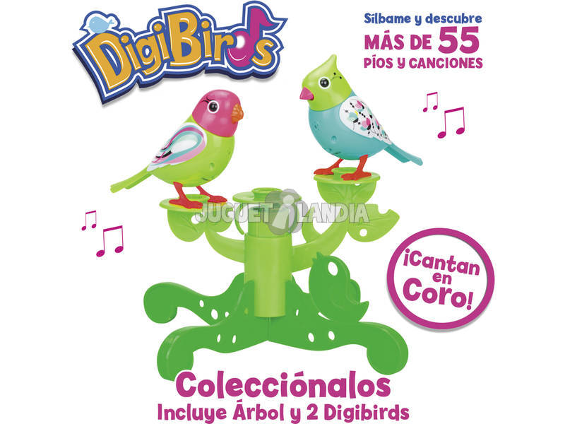Digibirds Arbol con Digibirds