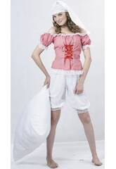 Fantasia Pijama Mulher Tamanho XL