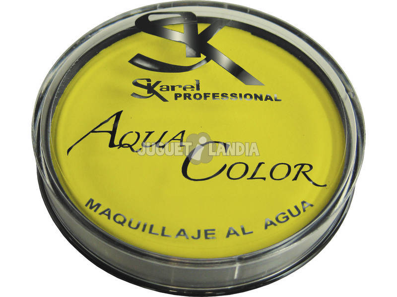 Maquilhagem à água 25 gr. Amarela