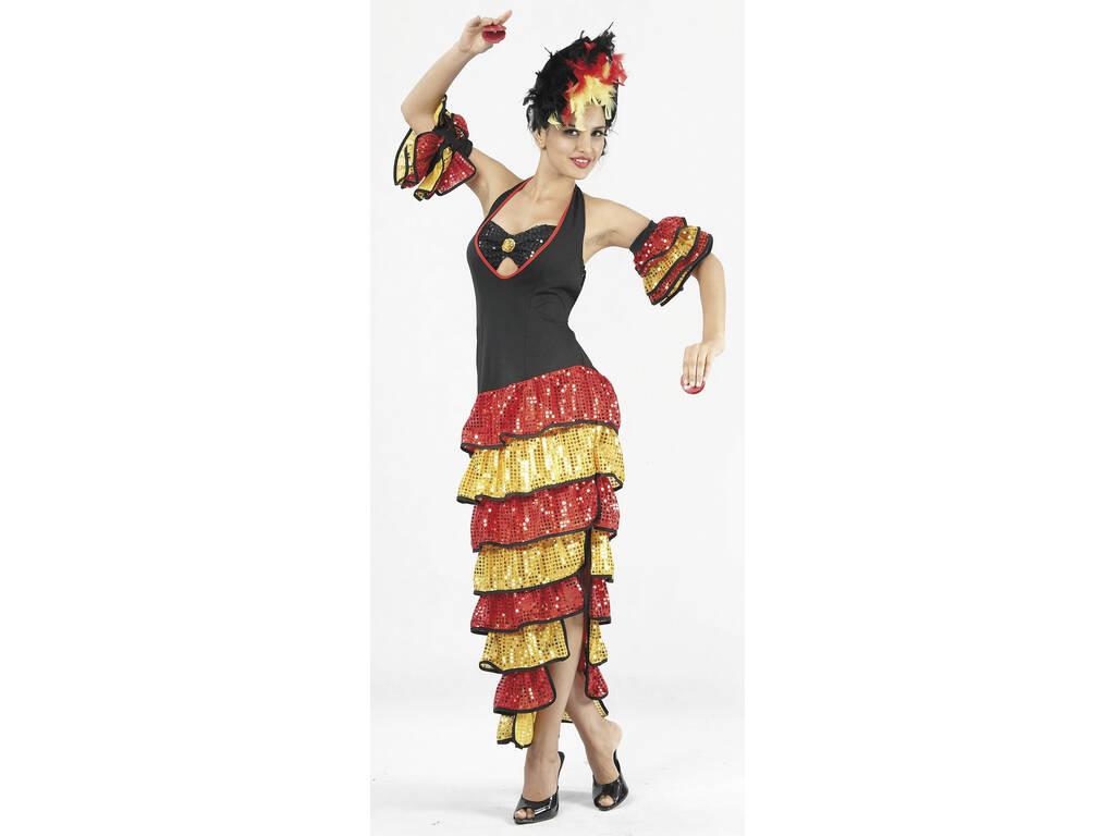 Disfraz Rumbera Mujer Talla XL