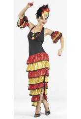 Kostüm Rumbatänzerin Frau Größe XL