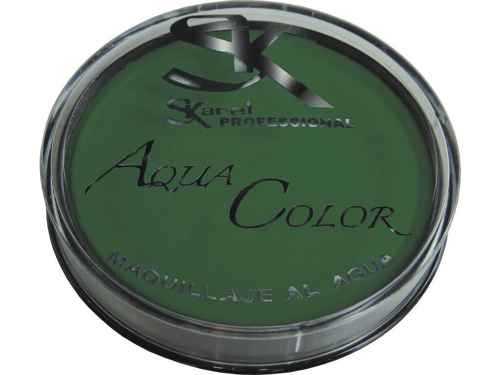 Maquillaje al Agua 25 gr. Color Verde Claro