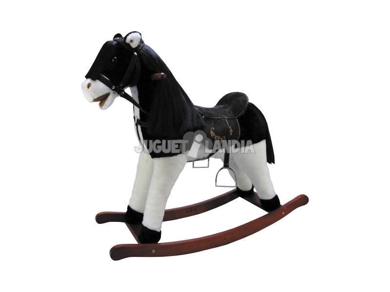 Cavalinho Baloiço 67cm. com Sons e Cadeira