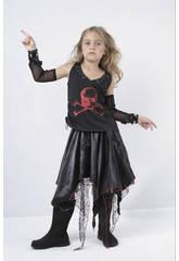 Disfraz Punk Niña Talla S