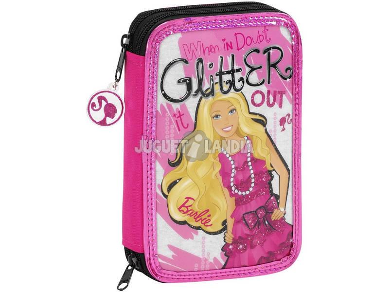 Barbie Plumier Doble 34 piezas