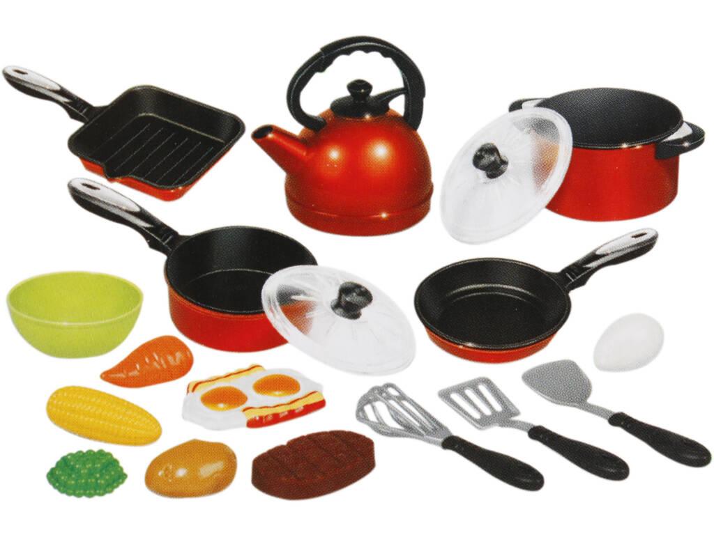 Set cucina di 18 pezzi