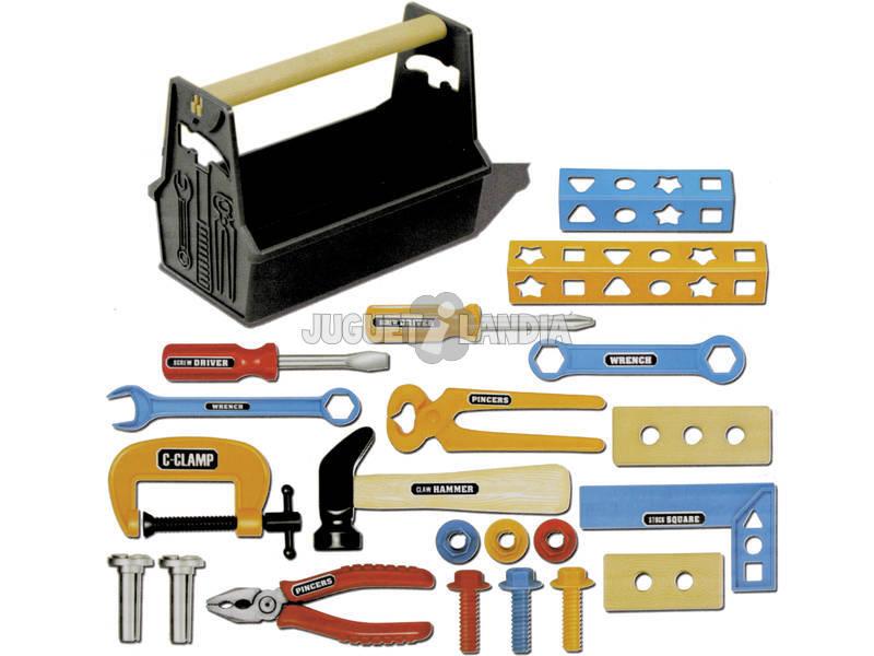Caixa de ferramentas 22 peças com martelo