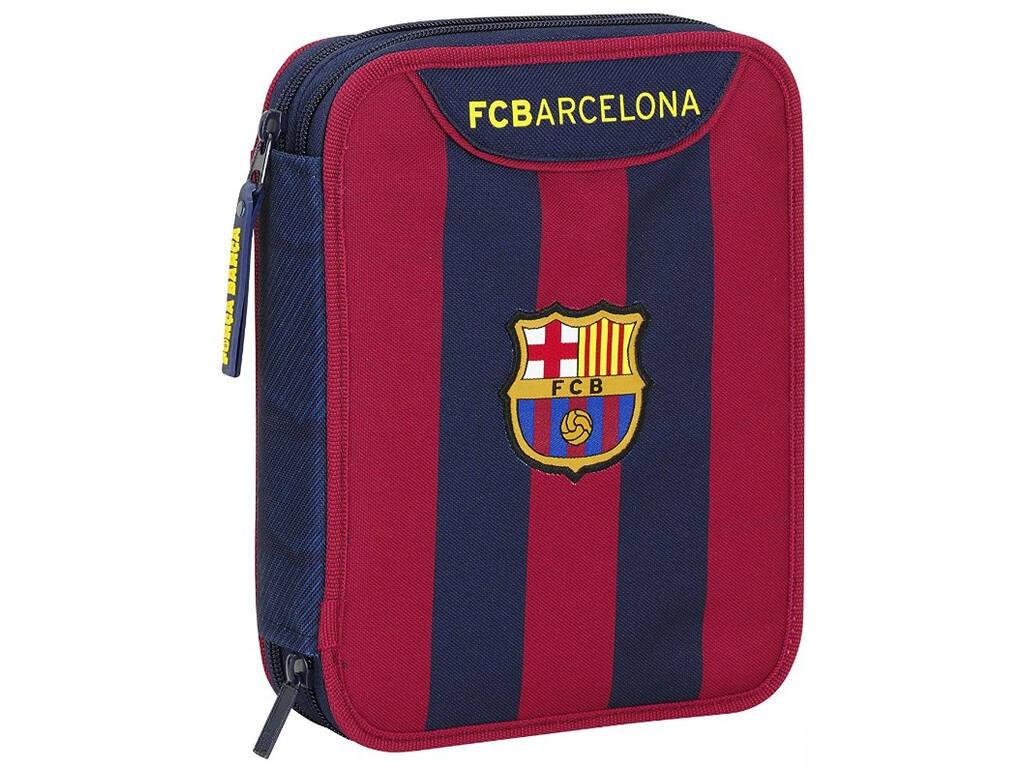 Plumier Doble 56 piezas F.C. Barcelona