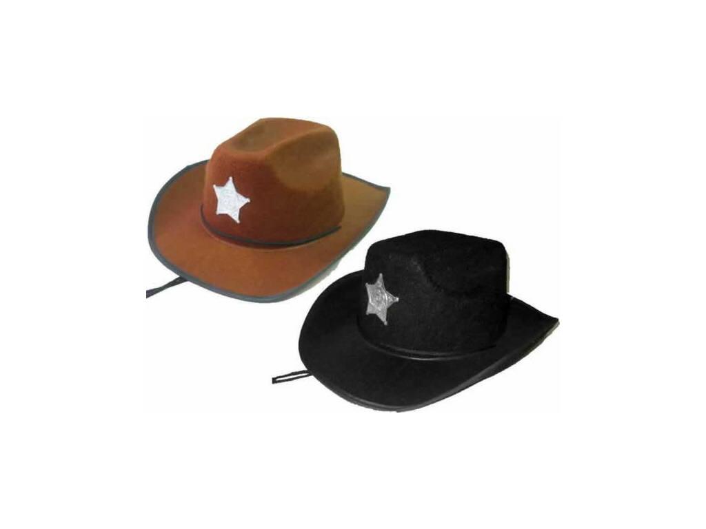Cappello 57 cm Cowboy Sceriffo