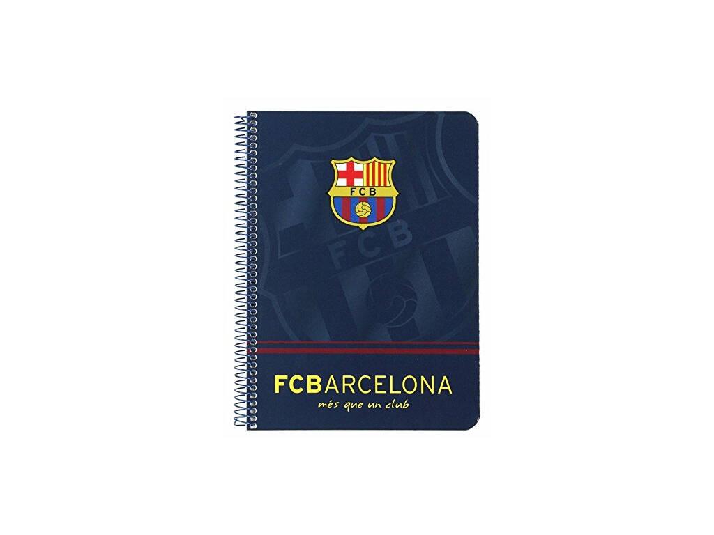 Libreta Cuarto 80 Hojas Tapa Dura F.C. Barcelona