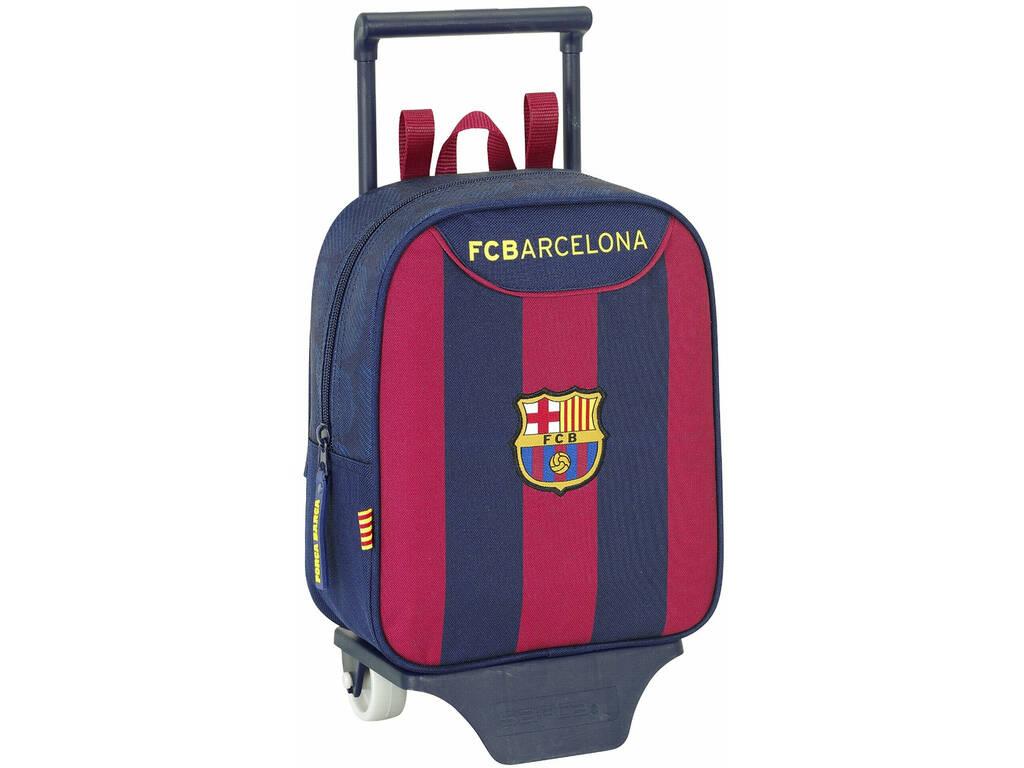 Mochila Infantário com Rodas F.C. Barcelona