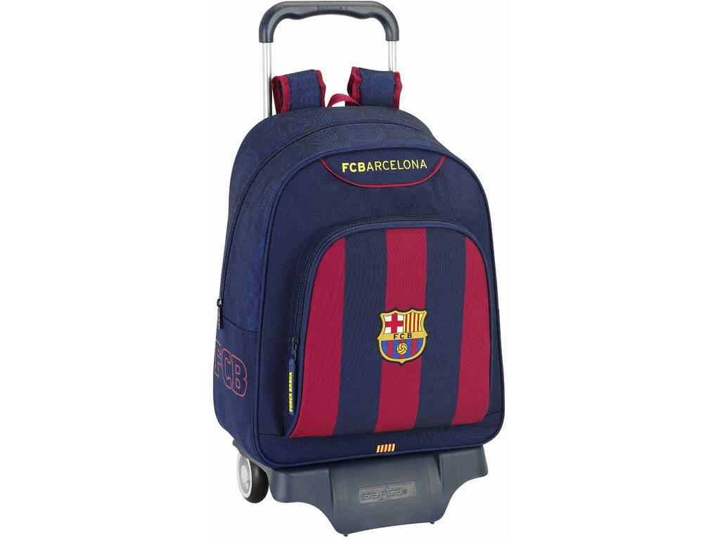 Mochila con Ruedas F.C. Barcelona