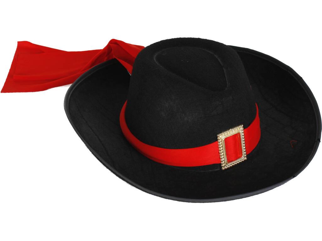 Sombrero Mosquetero Adulto con Bandana