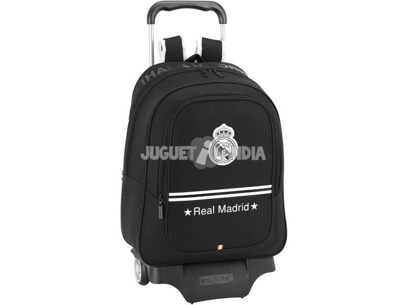 Zainetto trolley Real Madrid Black