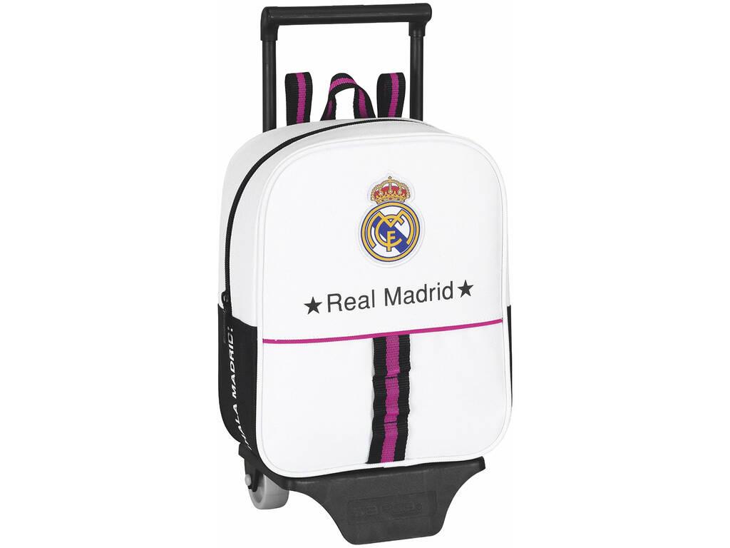 Mochila Guarderia Ruedas Real Madrid 1º Equipacion