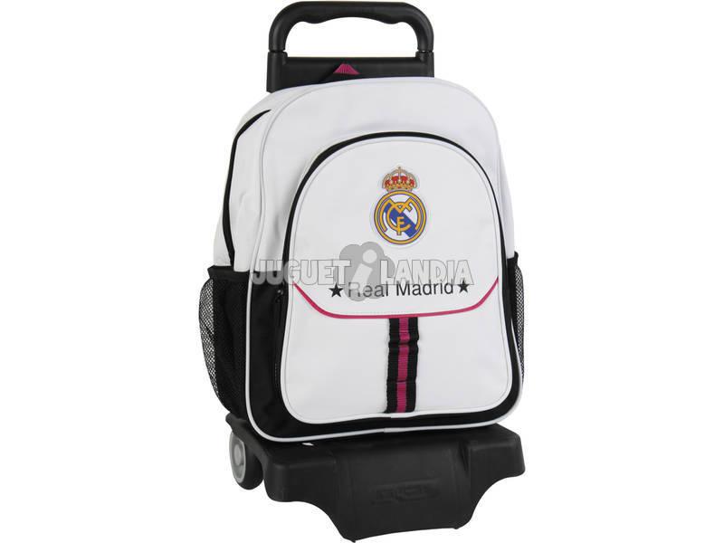 Mochila Con Ruedas Real Madrid 1º Equipacion