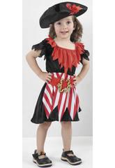 Costume Pirata Bimba L