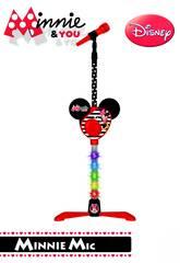 Minnie And You Microfone Pé com Amplificador Reig 5253