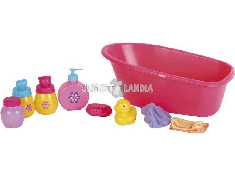 Banheira com Acessórios de Banho