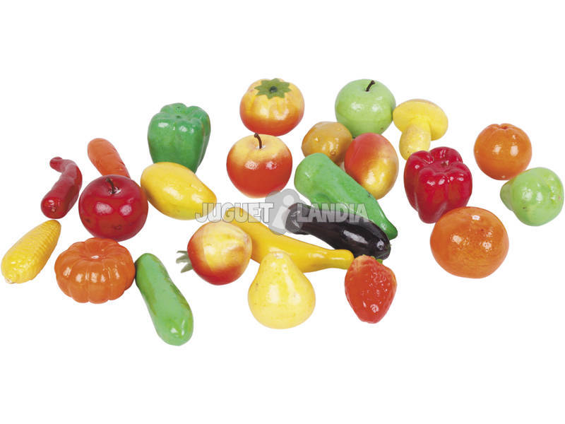 Bolsa Frutas e Verduras 24 Peças
