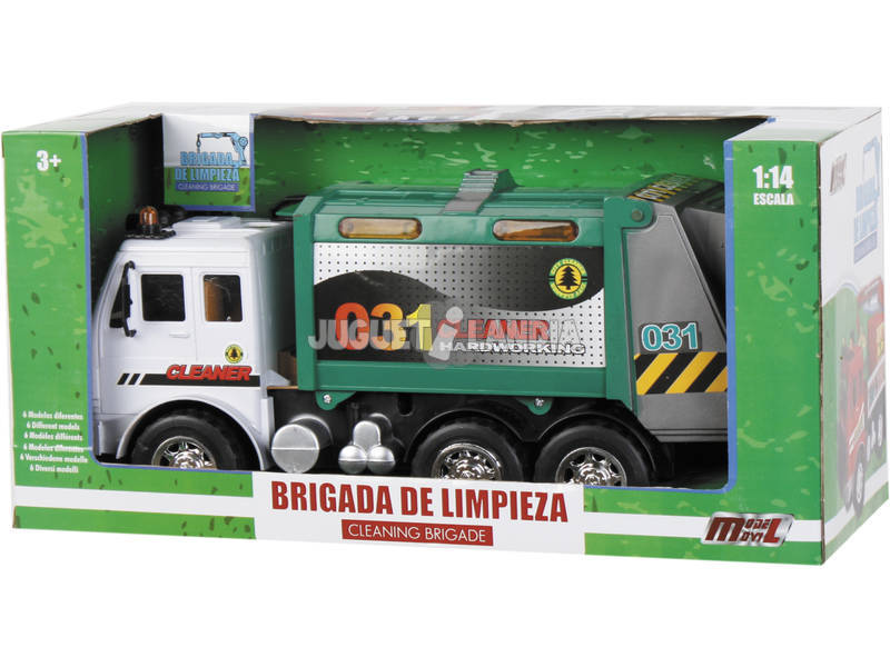 Camion 1:14 Recogida Residuos Solidos Urbanos