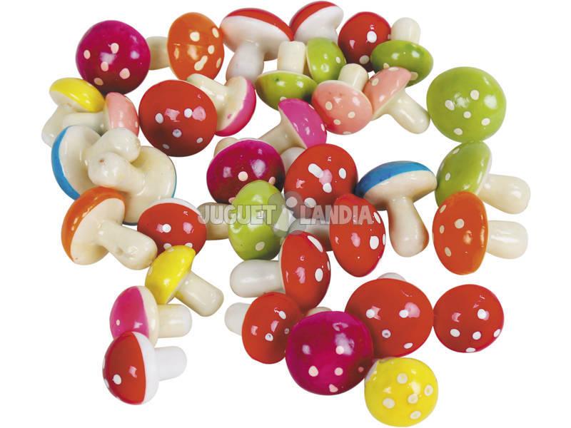 Bolsa Setas 36 piezas