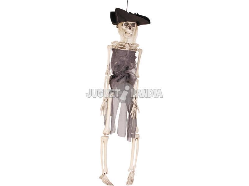 Pirata Esqueleto 40 cm. Colgante