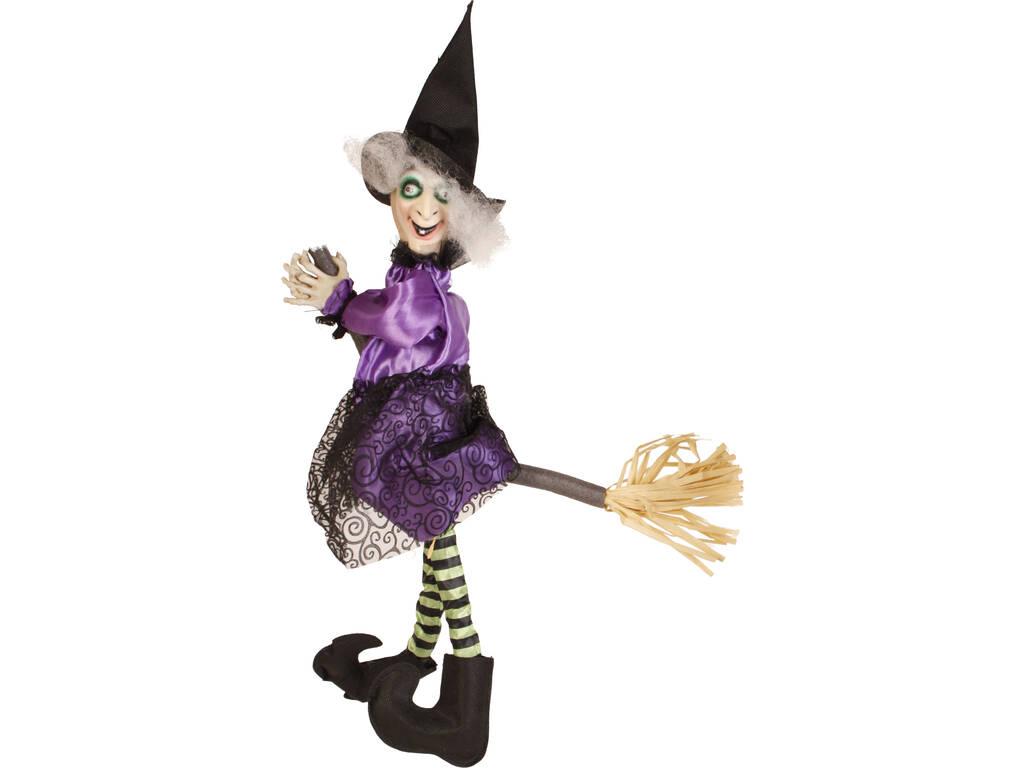 Bruxa Lilás para Pendurar