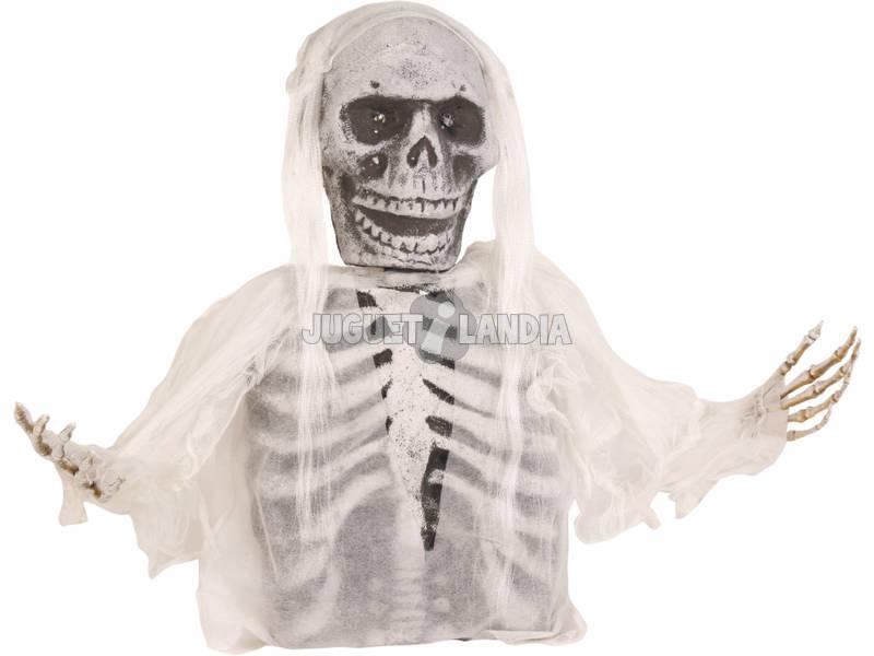 Esqueleto com Luz Enterrado