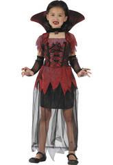 Disfraz Vampiresa Gotica Niña Talla M