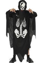 imagen Disfraz Demonio Esqueleto Niño Talla S