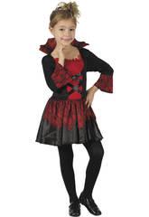 Disfraz Niños M Vampiresa