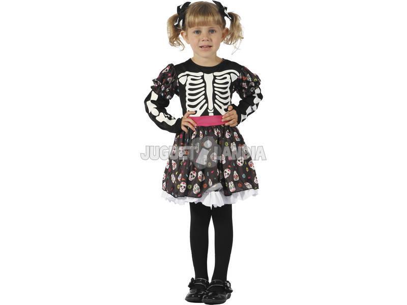 Disfraz Esqueleta Bebé Talla S