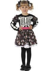 Déguisement Squelette bébé Taille M