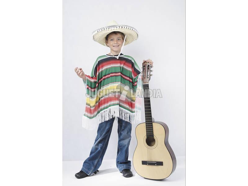 Fantasia Mexicano para Menino Tamanho S