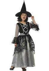 Disfraz Bruja Niña Talla XL