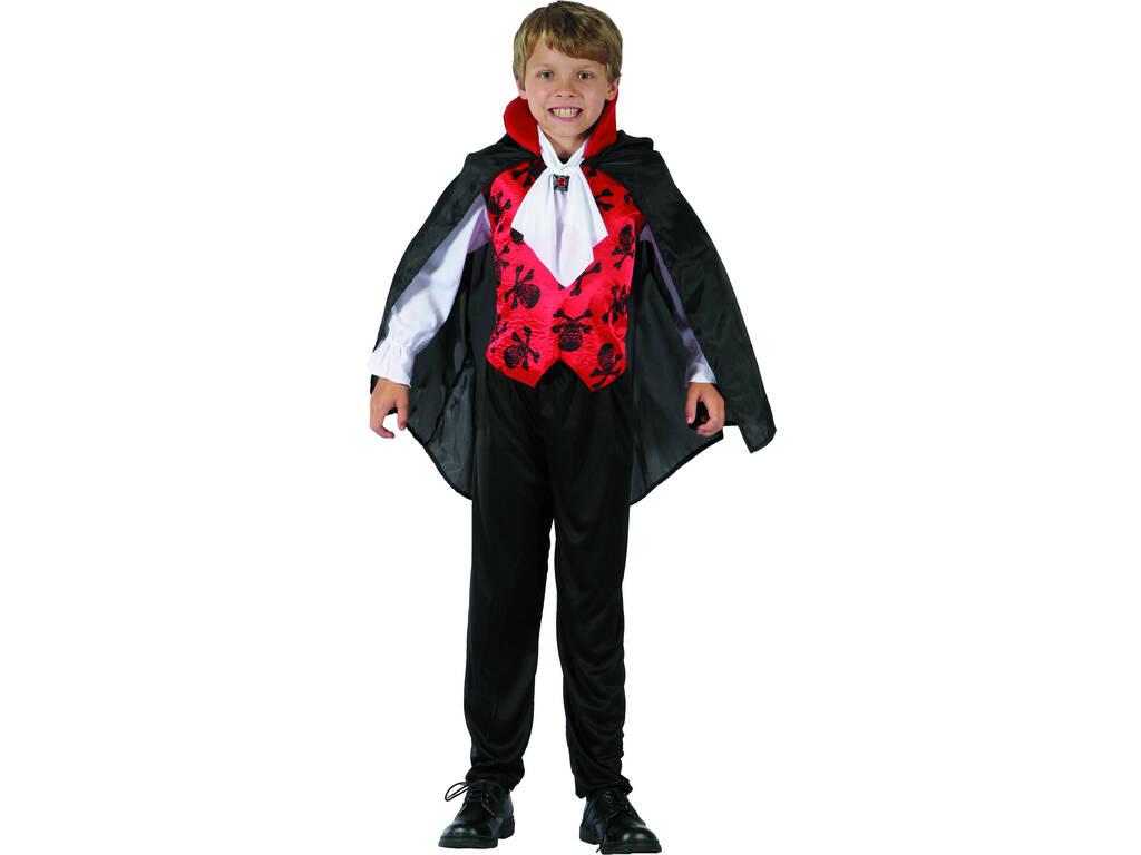 Costume Vampiro Rosso Bimbo S