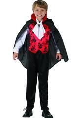 imagen Disfraz Niños XL Vampiro Rojo