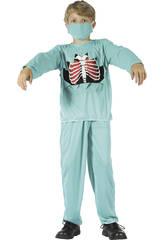 Maschera Dottor Morte Bambino Taglia L