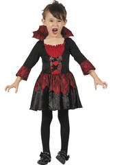 imagen Disfraz Bebé Vampiresa Talla S