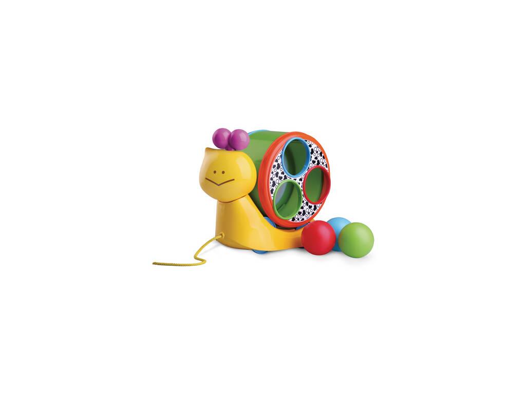 Escargot avec boules emboîtables
