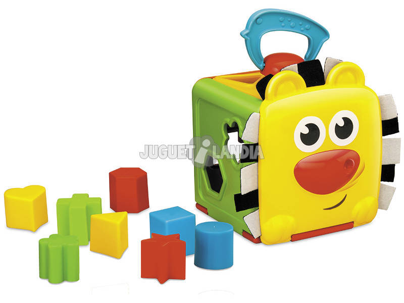 Cubo Jungla con Formas Encajables