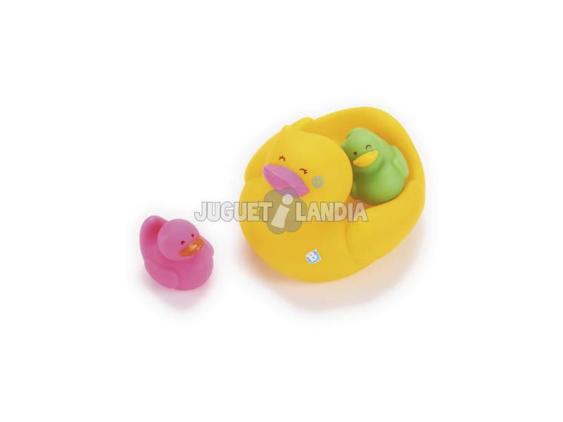 Familia Patos para o Banho