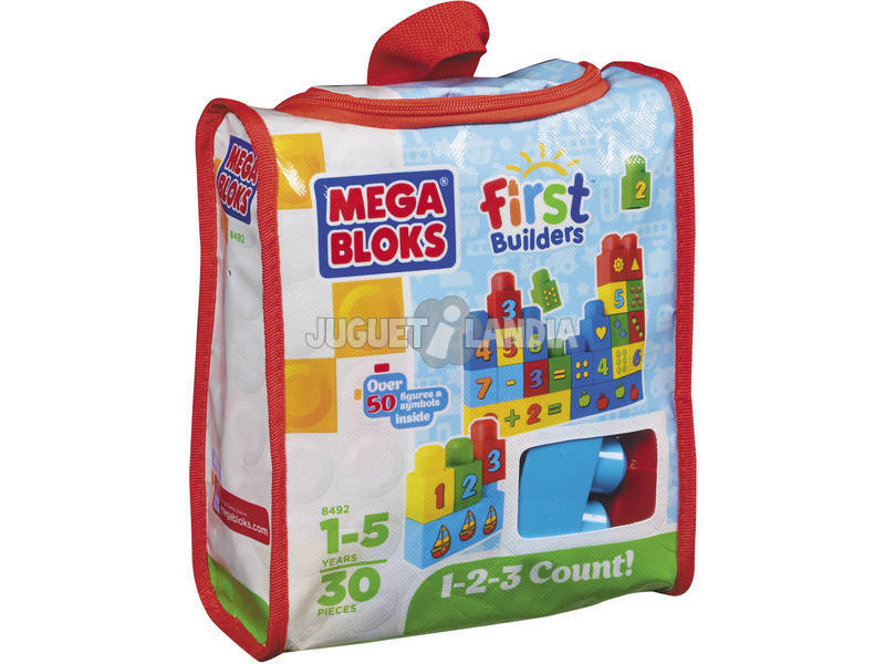 Mega Mega Ecoks Bag 1,2,3 Numbers
